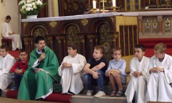 Évközi 10. vasárnap, gyermek és családos mise