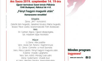Ars Sacra fesztivál